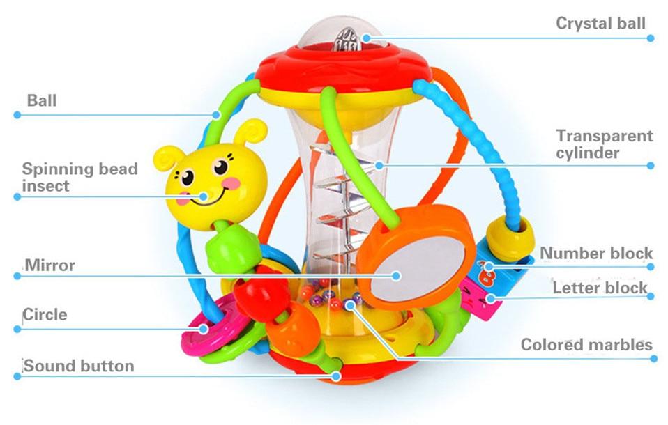 Погремушки для новорожденных: когда ребенок начинает держать погремушку в руках (как и какие выбрать) - мир здоровья