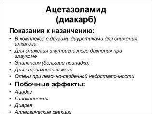 «аспаркам» в лечении детей и его назначение совместно с диуретиком «диакарб»