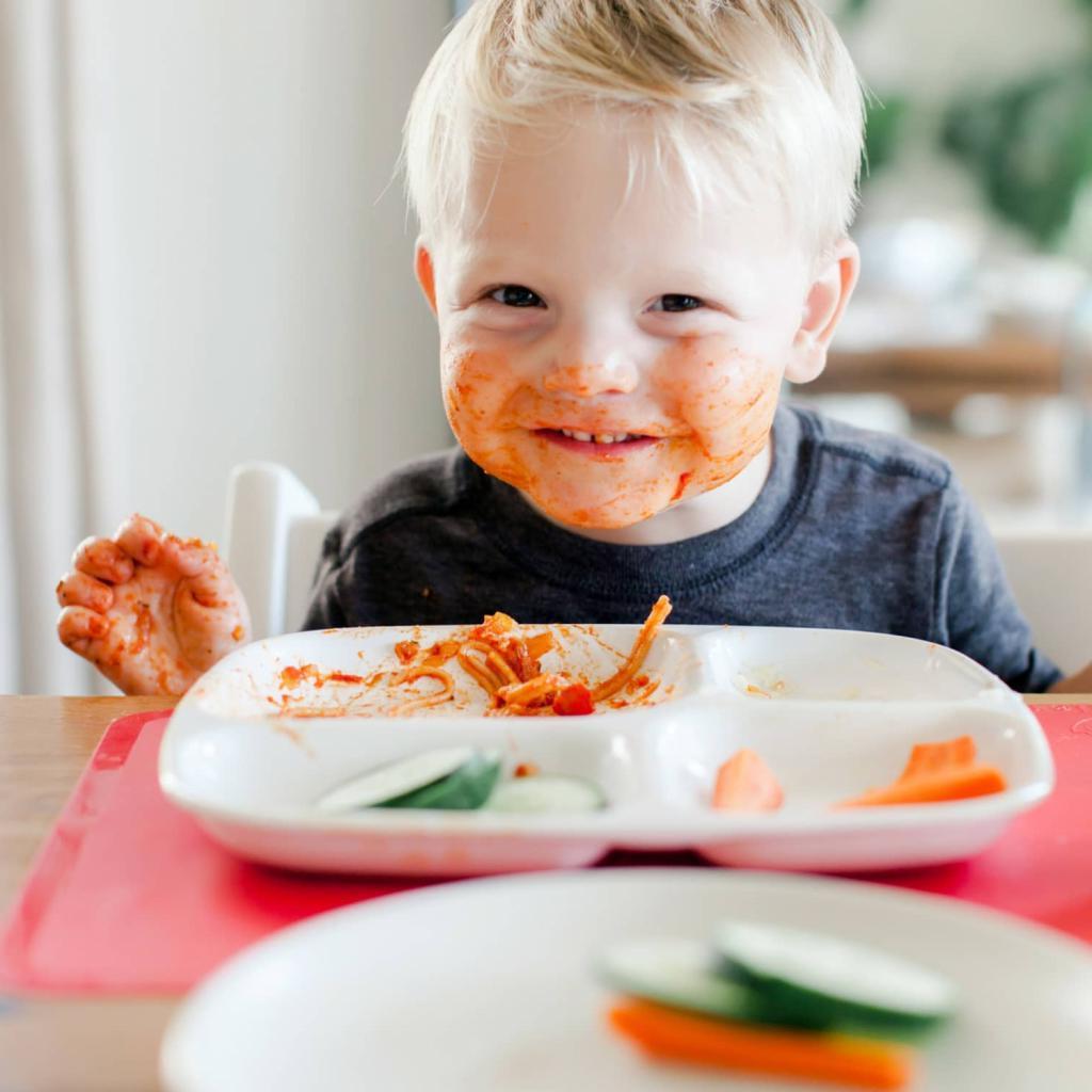 Детское меню: как приучить ребенка есть взрослую пищу. как приучать ребенка к новой еде