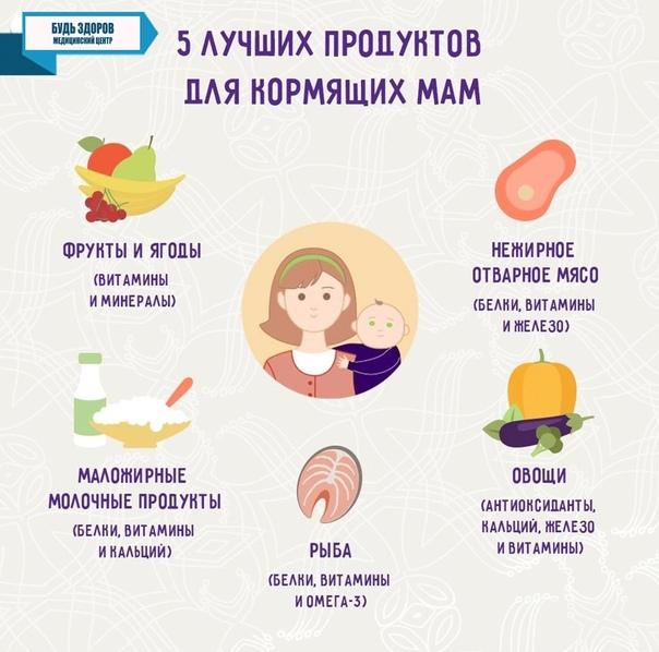 10 мифов о питании кормящей мамы
