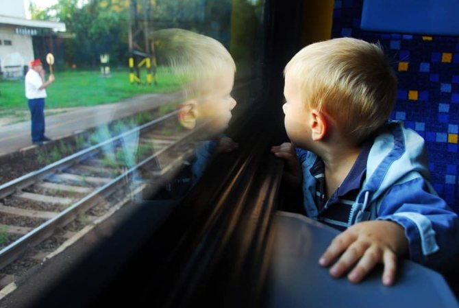 С ребенком в поезде: что взять из еды и вещей?