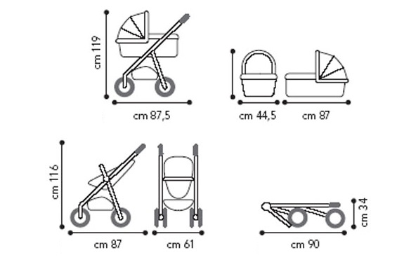 Легкие коляски для новорожденных: какая модель является самой удобной, детская компактная продукция, легкие по весу изделия, рейтинг лучших