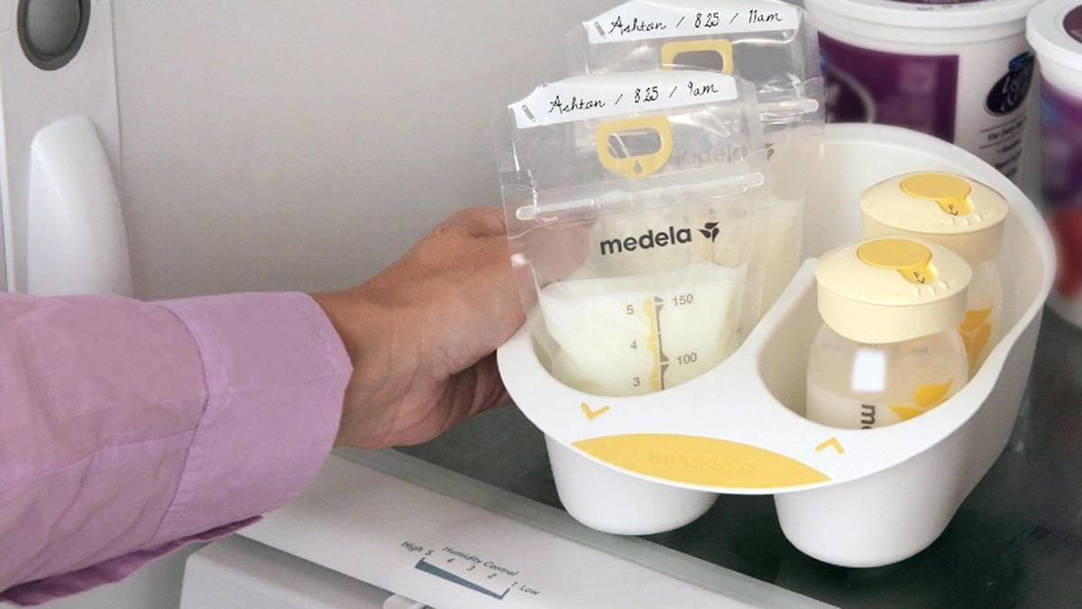 Сцеживание и хранение грудного молока, правила сцеживания и хранения молока