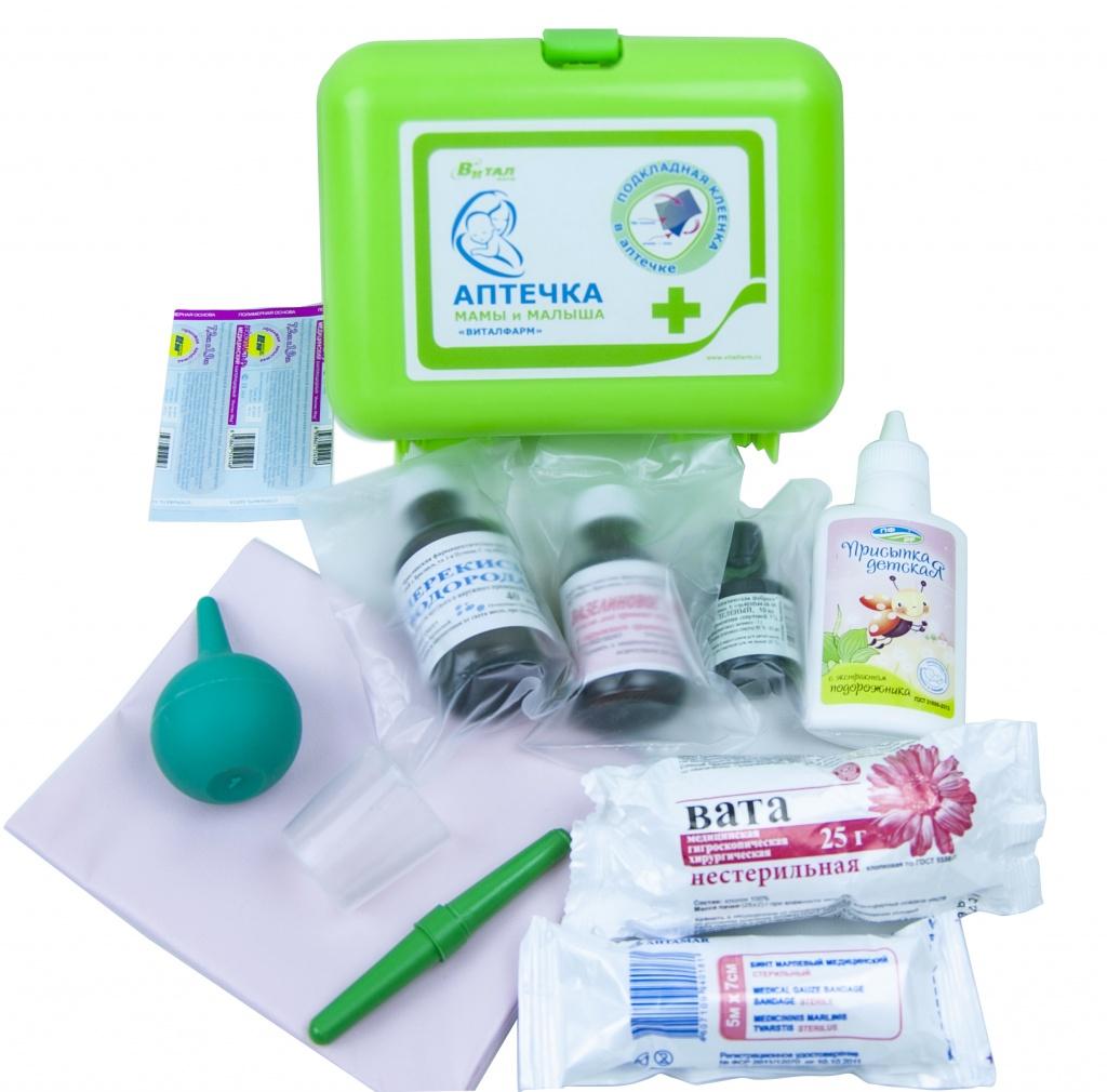 Собираем аптечку для новорожденного