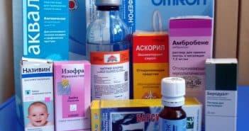Детские антибиотики при кашле и насморке названия