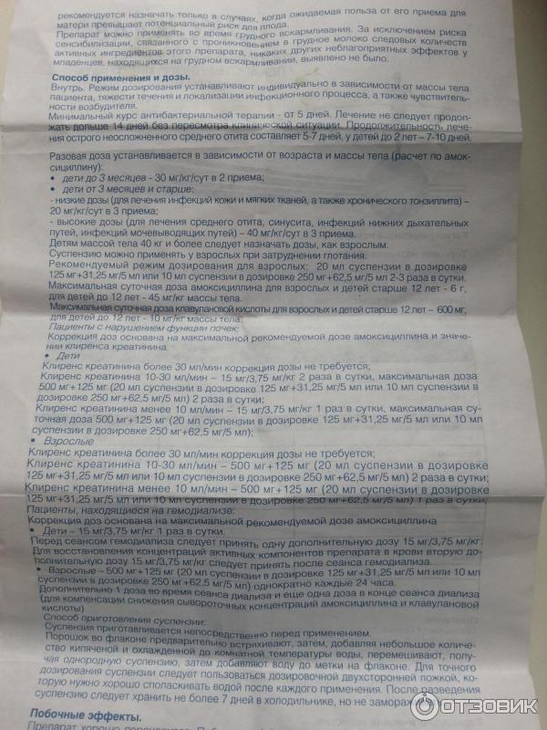 Вильпрафен: инструкция по применению для детей с дозировками по возрасту