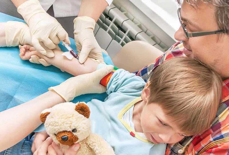 Боюсь сдавать анализ крови ребенку