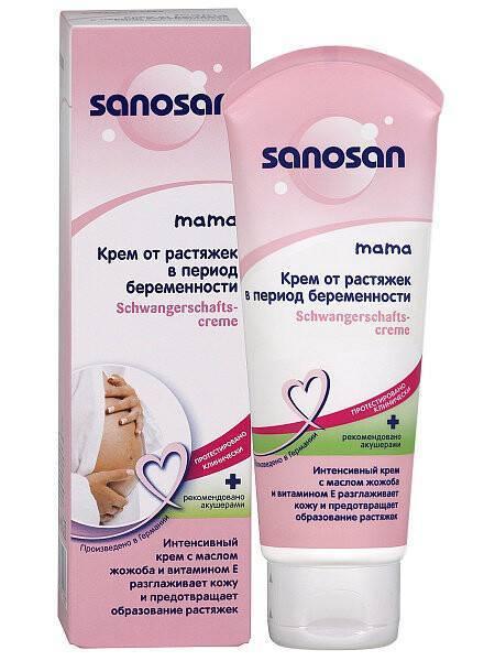 Крем от растяжек для беременных: состав и обзор марок / mama66.ru
