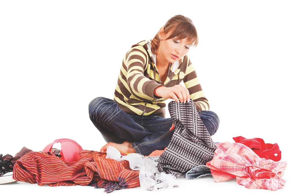 Куда пристроить одежду, из которой вырос ребенок?