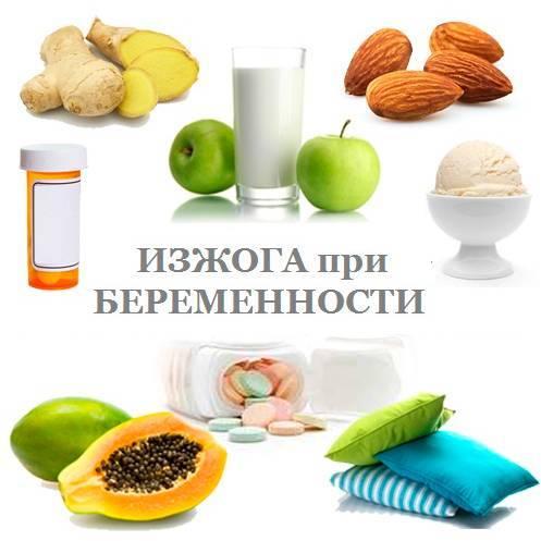 Что помогает от изжоги при беременности: народные средства, лекарства, продукты / mama66.ru