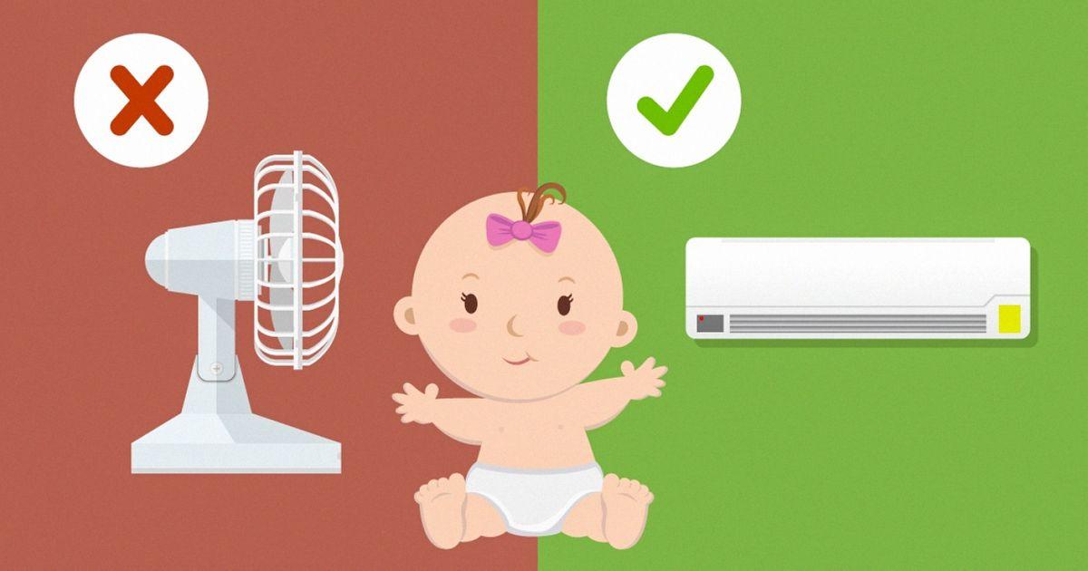 Как помочь ребёнку в летнюю жару