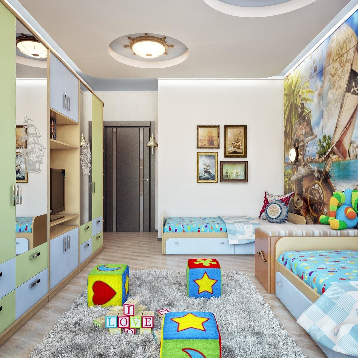 Детская 8 кв. м.: особенности и секреты создания стильного дизайна интерьера для детей (100 фото)