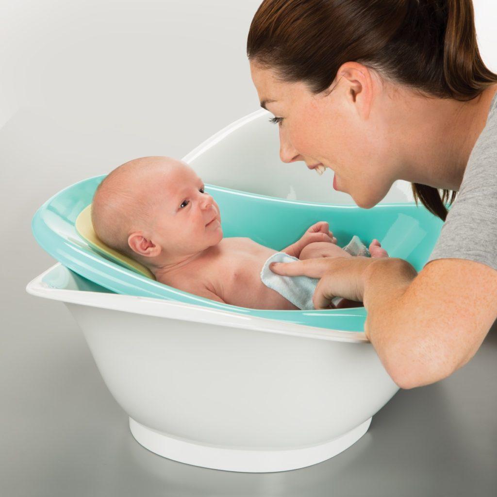 Ванночка для новорожденного   уроки для мам