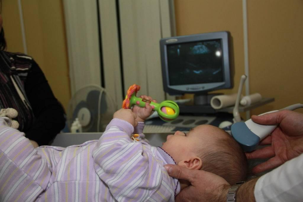 Узи шейного отдела позвоночника у грудных детей методика