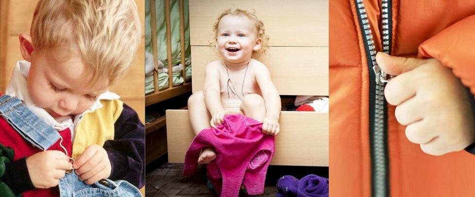 Почему ребенок не хочет одеваться и что с этим делать