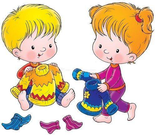 Как научить ребенка одеваться самостоятельно в 2-3 года