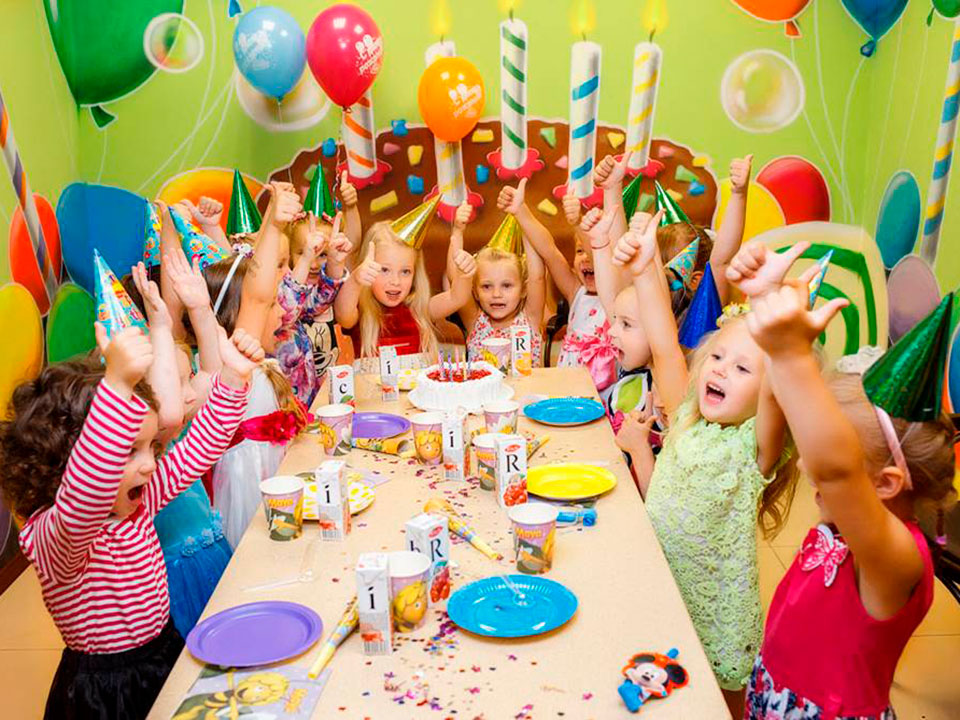 Конкурсы для детей на день ррождения от 4 до 6 лет