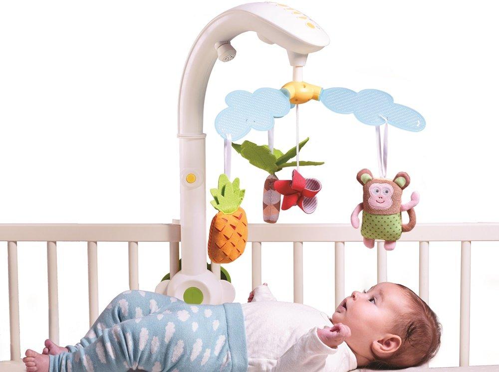 Игрушки над кроваткой. зачем новорожденному мобиль?