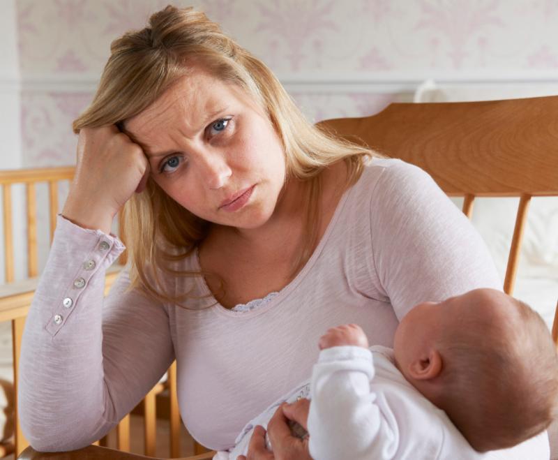 Депрессия после родов: химический дисбаланс и ошибки мышления | милосердие.ru