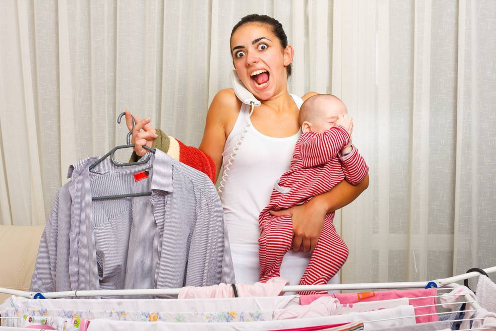 Эмоциональное выгорание матери в декрете: признаки и методы лечения