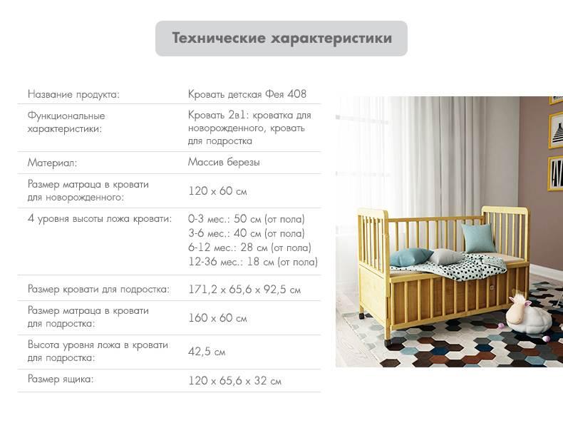 Какую кроватку выбрать для новорождённого малыша