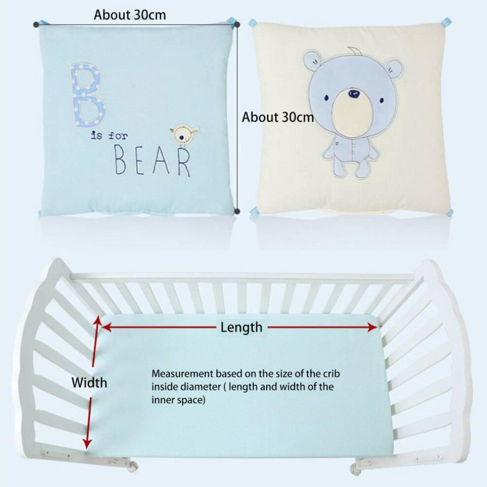 Здоровый сон новорожденных в детской кроватке: как не прогадать с размерами постельного белья?