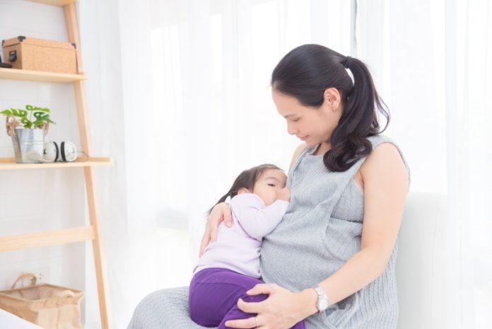 Беременность при гв: когда после родов во время грудного вскармливания можно вновь зачать при отсутствии месячных, и продолжать ли кормление ребенка молоком?