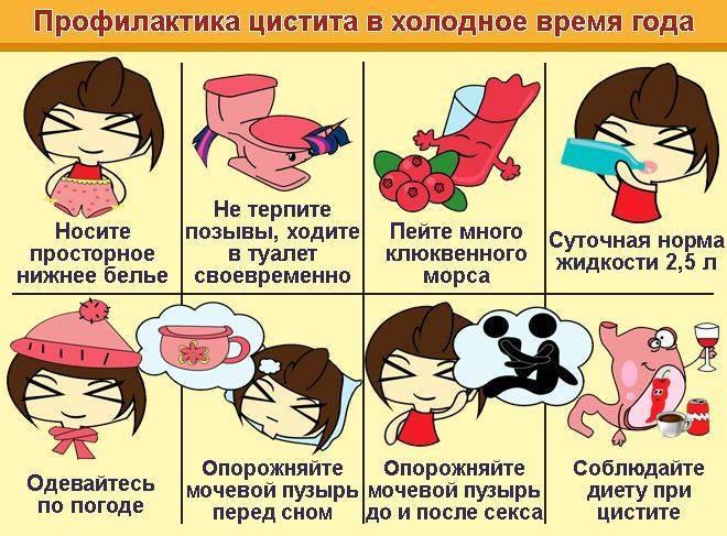 Симптомы цистита после родов и его лечение