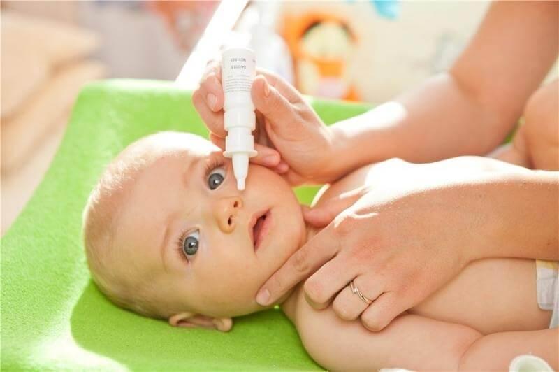 Капли в нос новорожденному: какие можно, как правильно закапывать | компетентно о здоровье на ilive