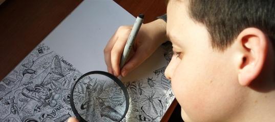 Ребенок рисует черным цветом: когда это норма