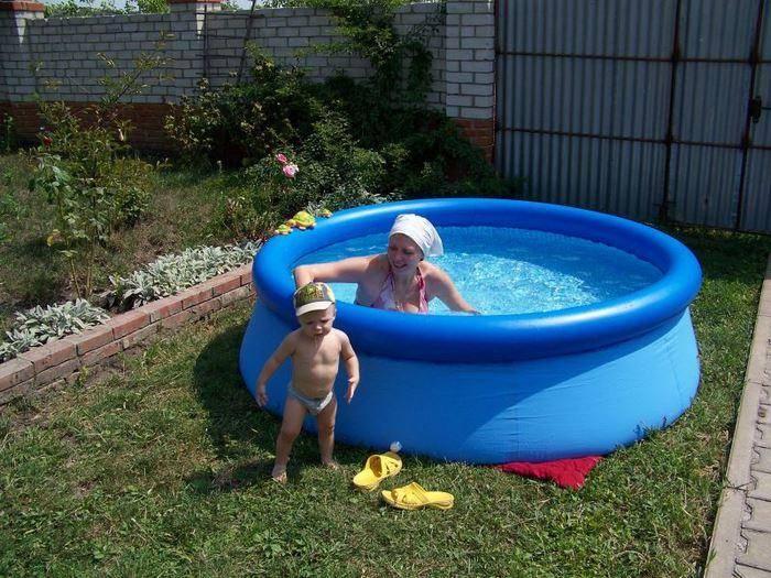 Каркасные бассейны — цены в москве   intex online