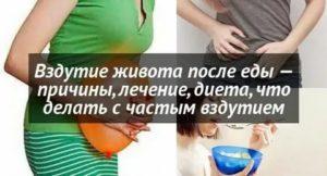 Повышенное газообразование после родов