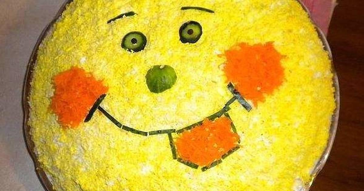 Рецепты простых и вкусных салатов на день рождения ребенка с фото и пошаговыми инструкциями