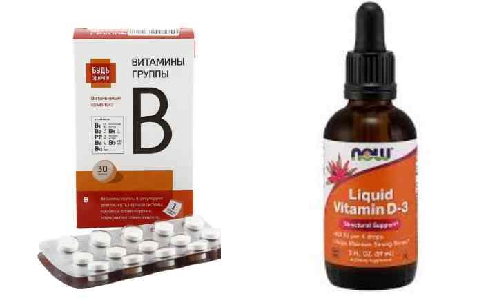 Витамины группы в – применение и препараты для детей