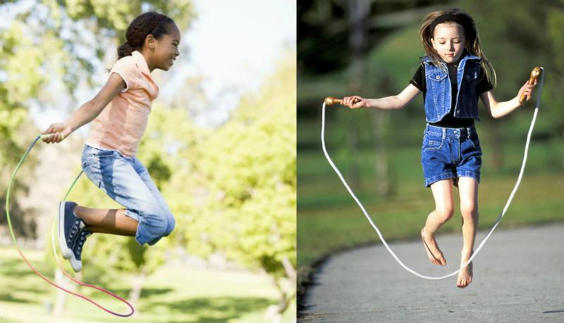 Как научить ребёнка прыгать через скакалку