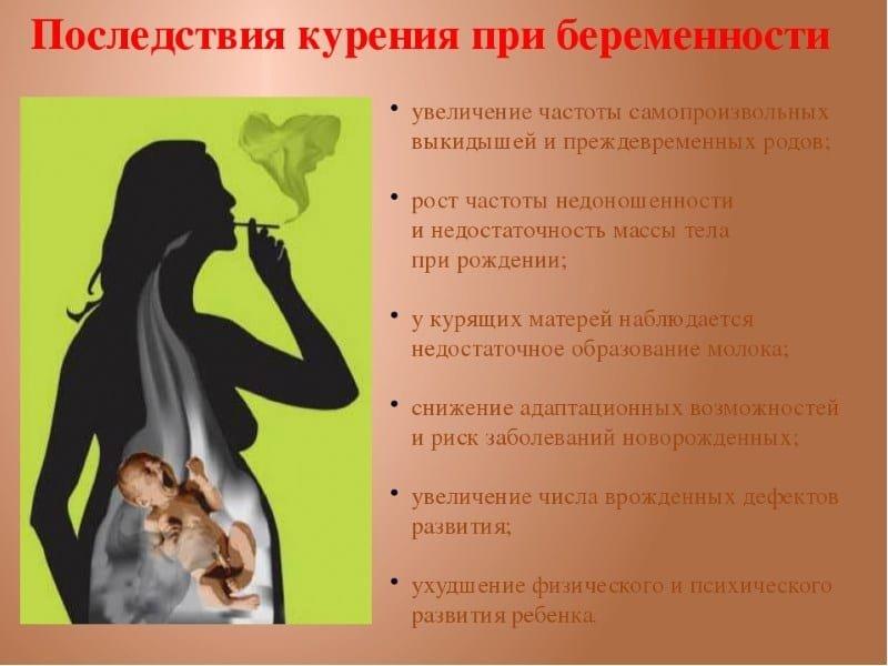 Курение во время грудного вскармливания: вред для бюста и здоровья крохи