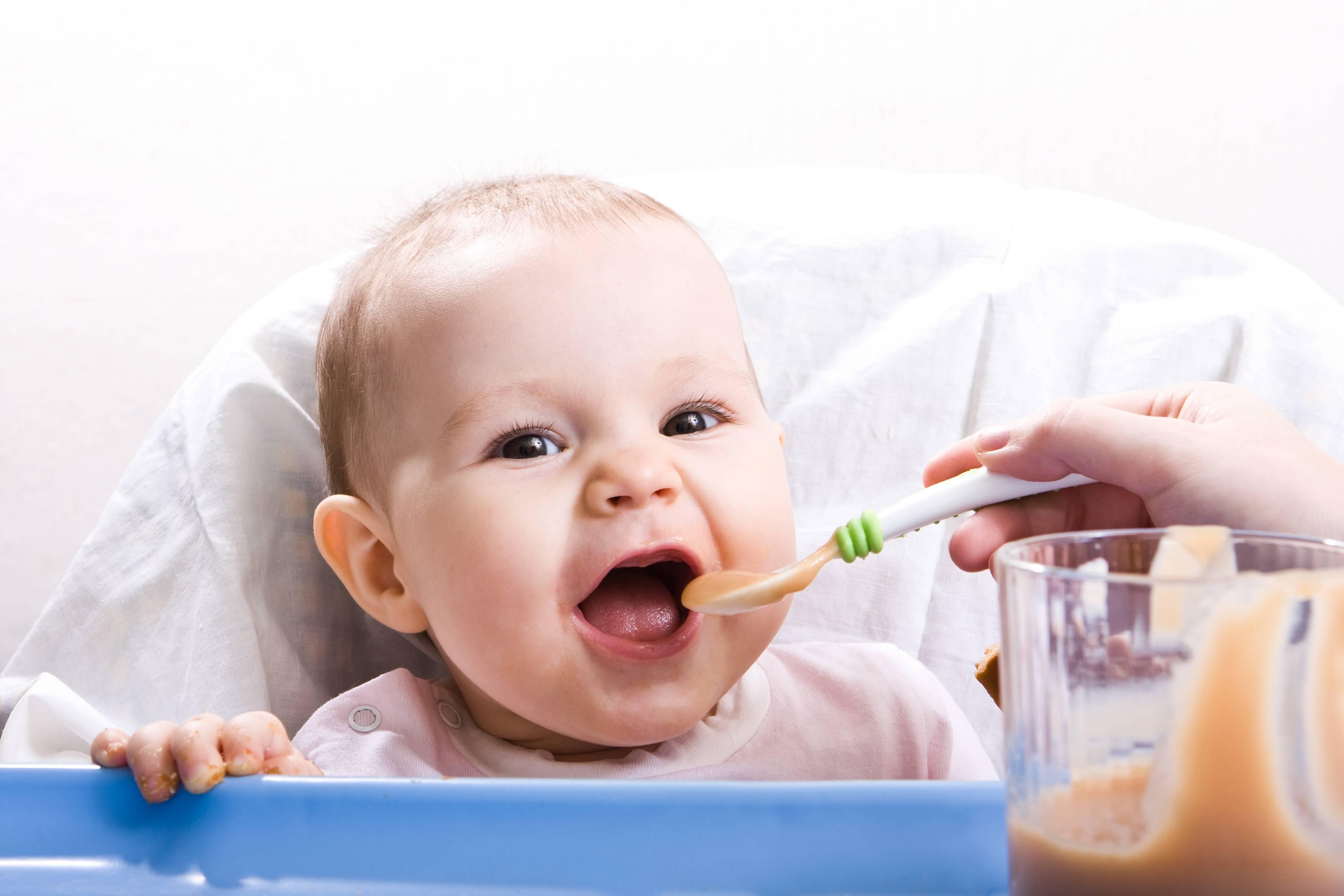 Как вводить прикорм ребенку — таблица прикорма детей до года по месяцам