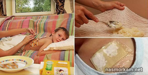 Лучшие компрессы от кашля ребенку: с медом, картофелем, капустой и другие рецепты