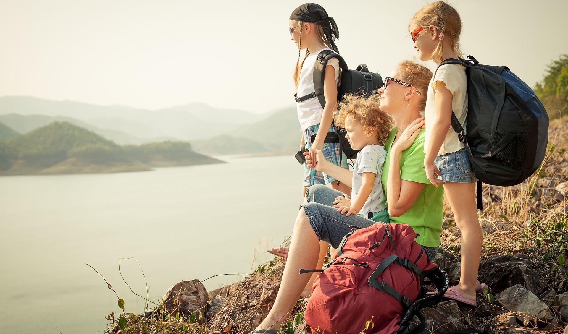 Как организовать долгое путешествие с ребенком?