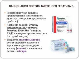Реакция на прививку от гепатита: побочные эффекты