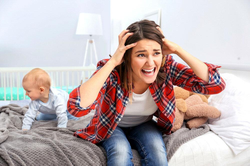 Материнская тревожность: депрессия - причины возникновения = психоаналитик.ру = материнская тревожность вызывает тревогу у младенца, что приводит к отказу от груди, психосоматическим расстройствам и депрессии у ребенка
