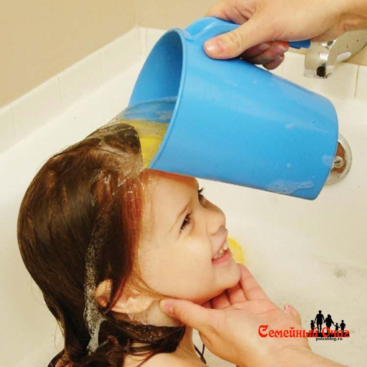 Самая страшная пытка для моих детей - мытье головы