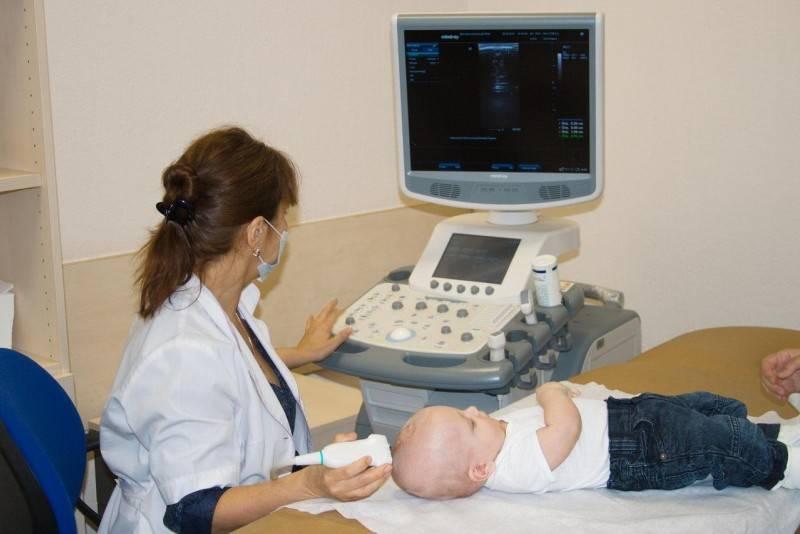 Узи шейного отдела позвоночника у грудных детей видео