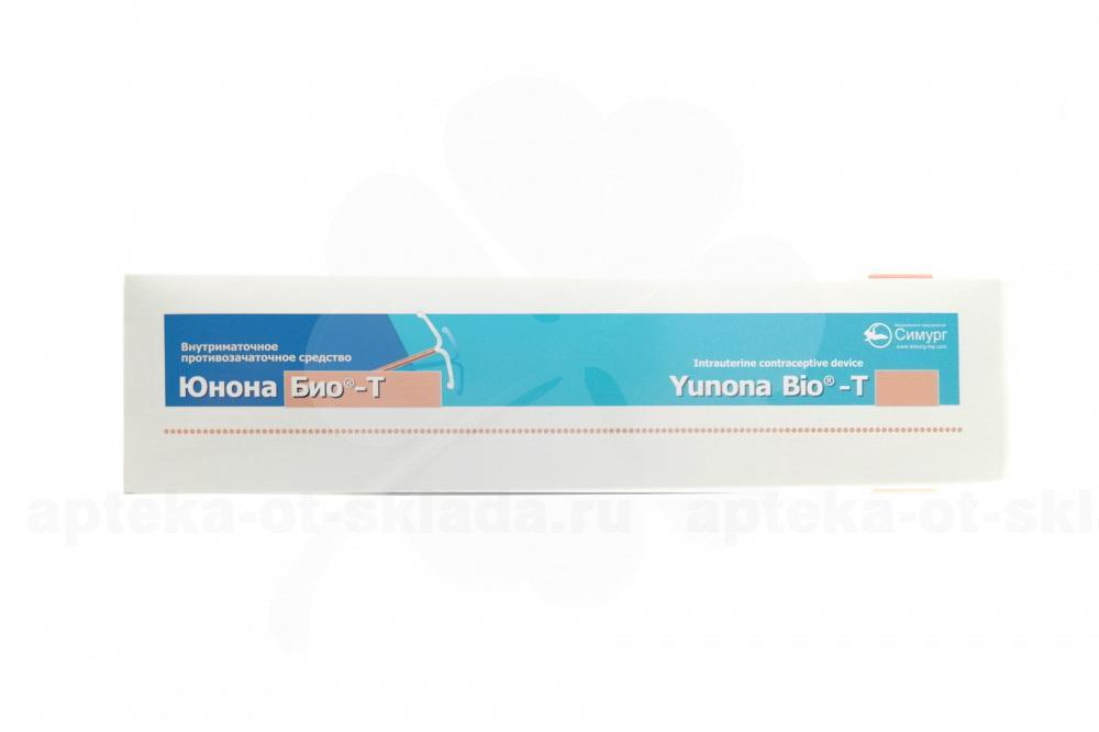Спираль юнона-био-т(ag) :: инструкция :: описание препарата :: цена