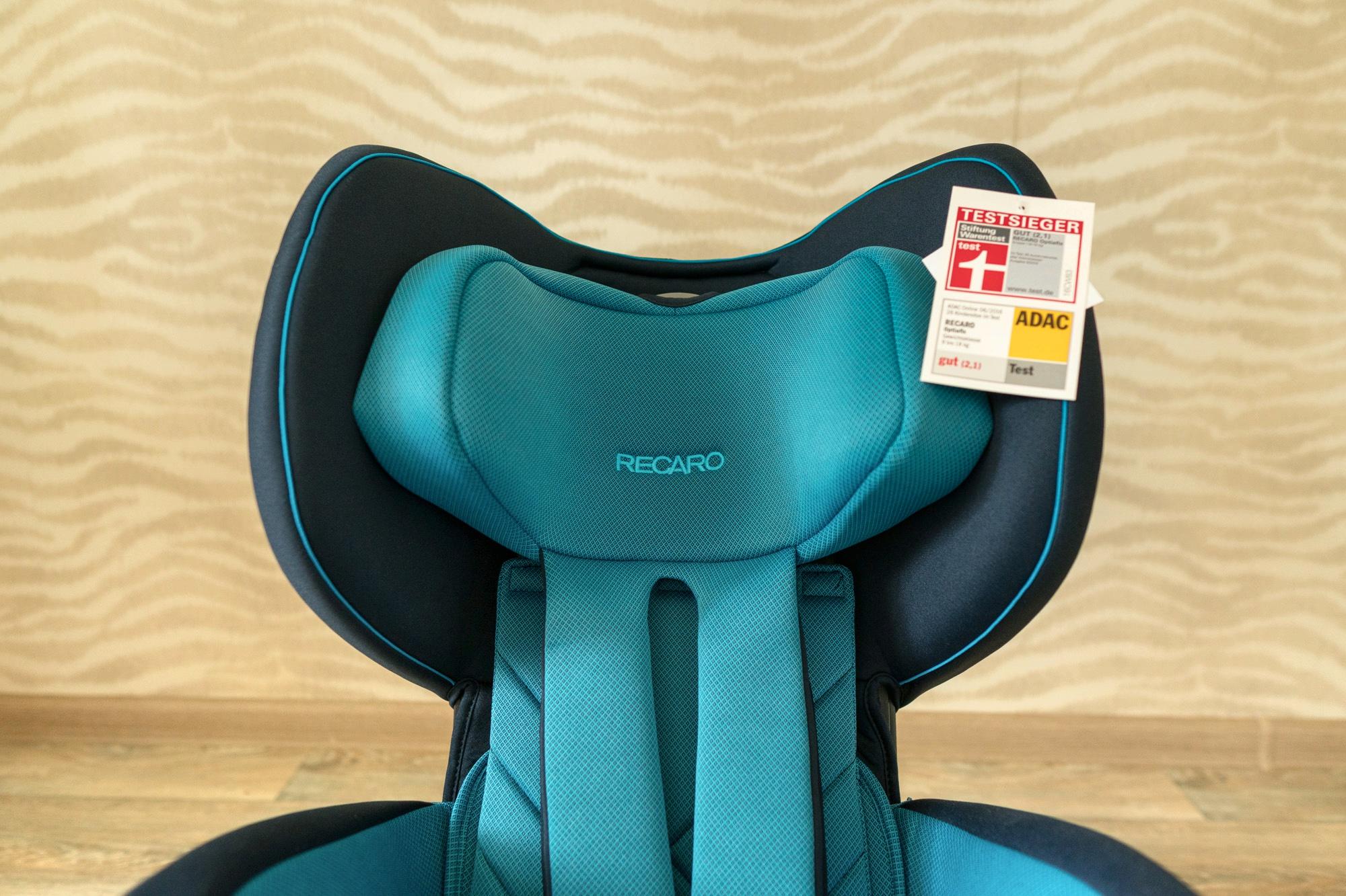 Обзор автомобильного кресла recaro optiafix