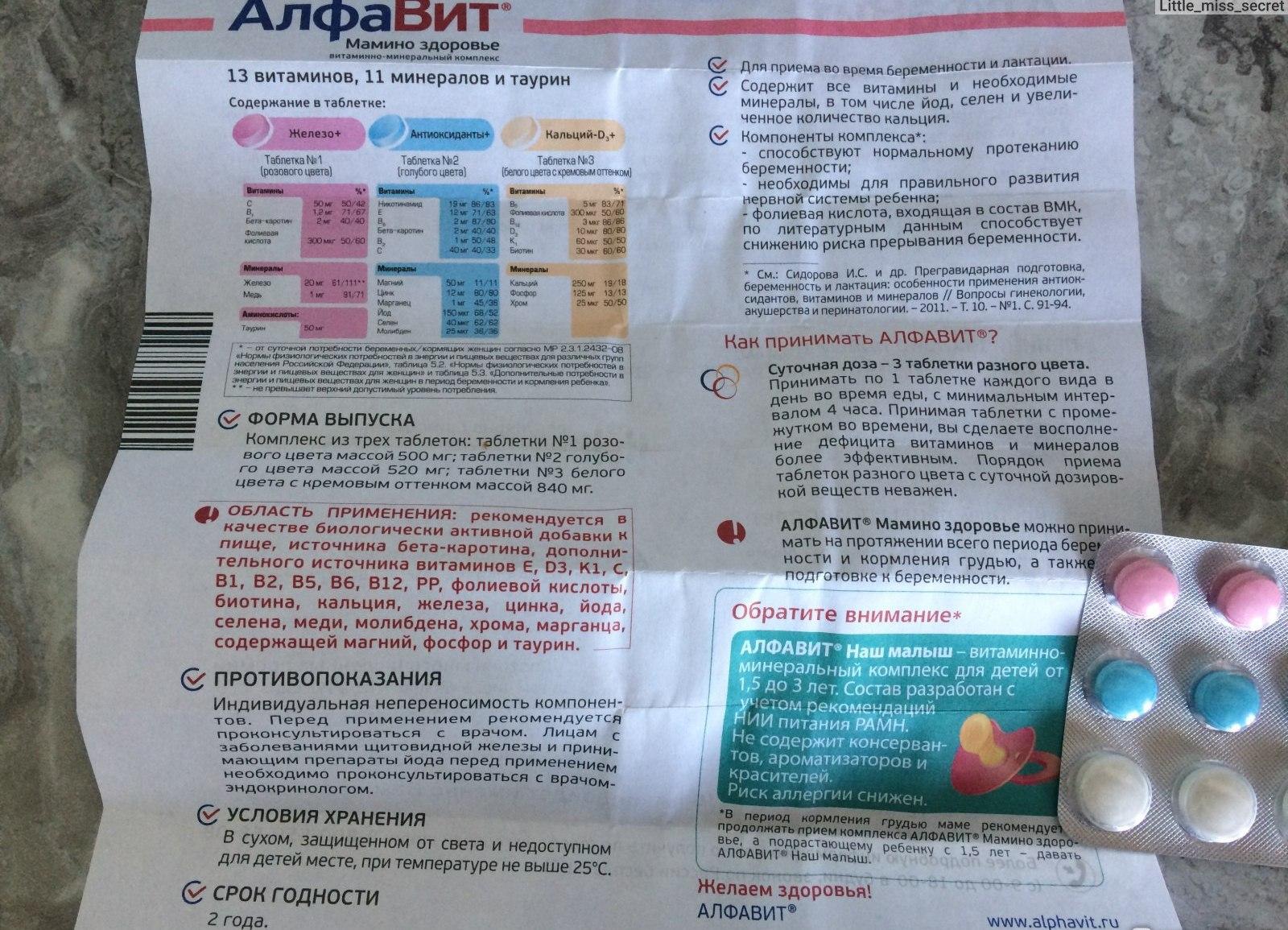 Алфавит мамино здоровье. инструкция по применению. показания. состав. способ приема. побочные действия. аналоги. цена. отзывы.