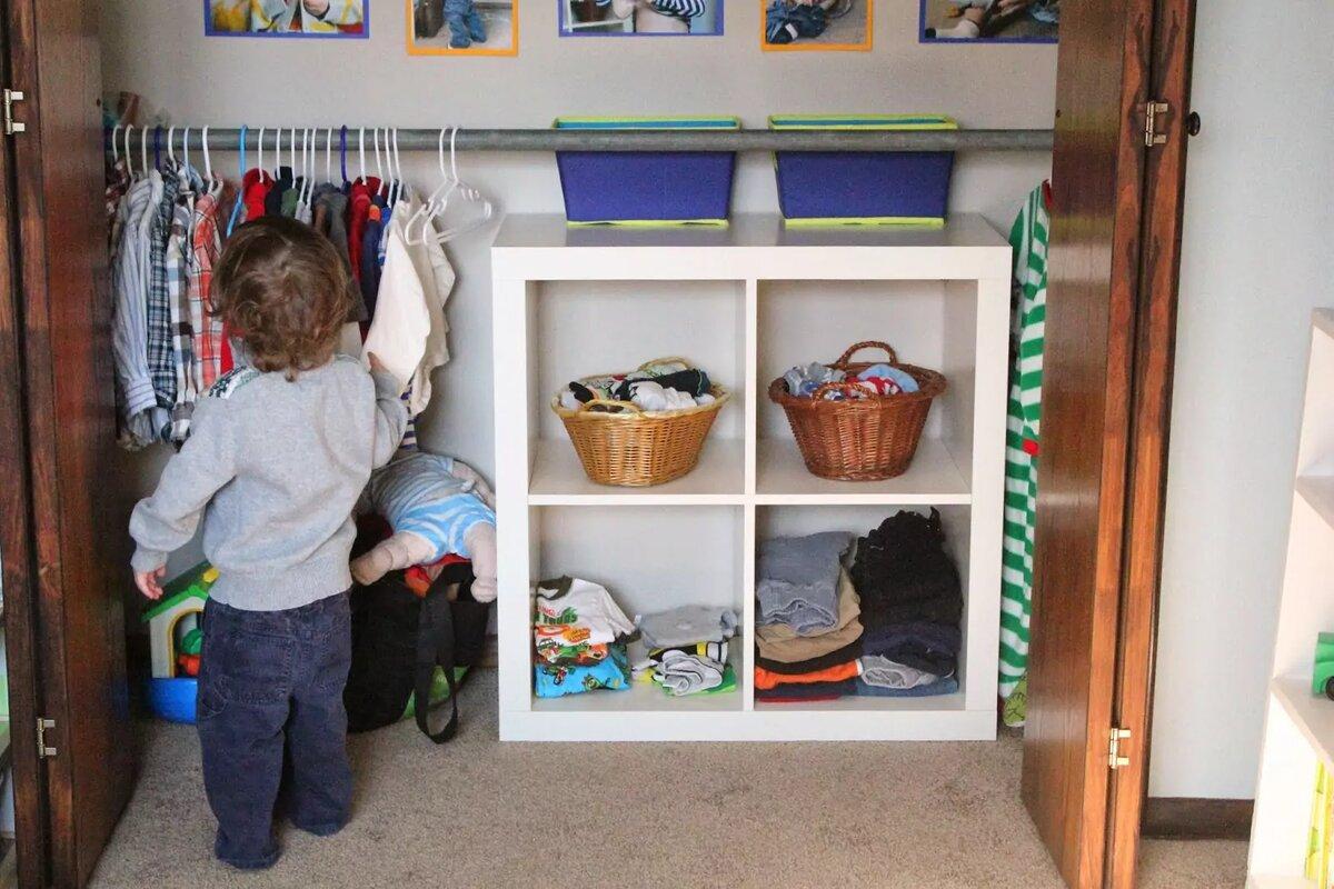Мы растем не по годам, или куда девать детскую одежду?