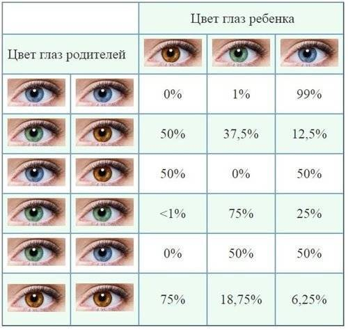7 секретов изменения цвета глаз у младенца и новорождённого