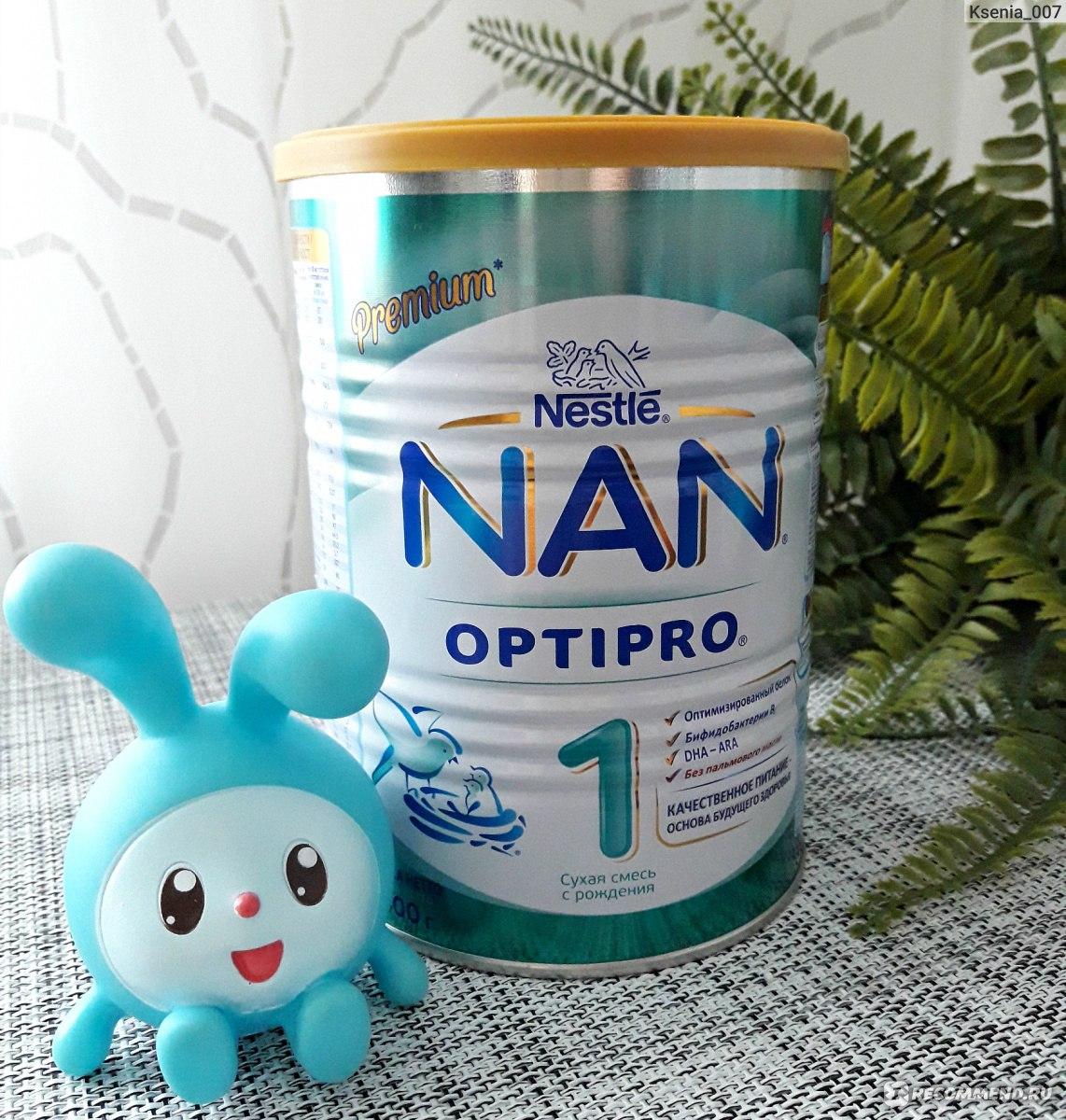 Детская сухая молочная смесь нан от 0 до 6 месяцев: отзывы специалистов, правила кормления и виды детских продуктов от нестле