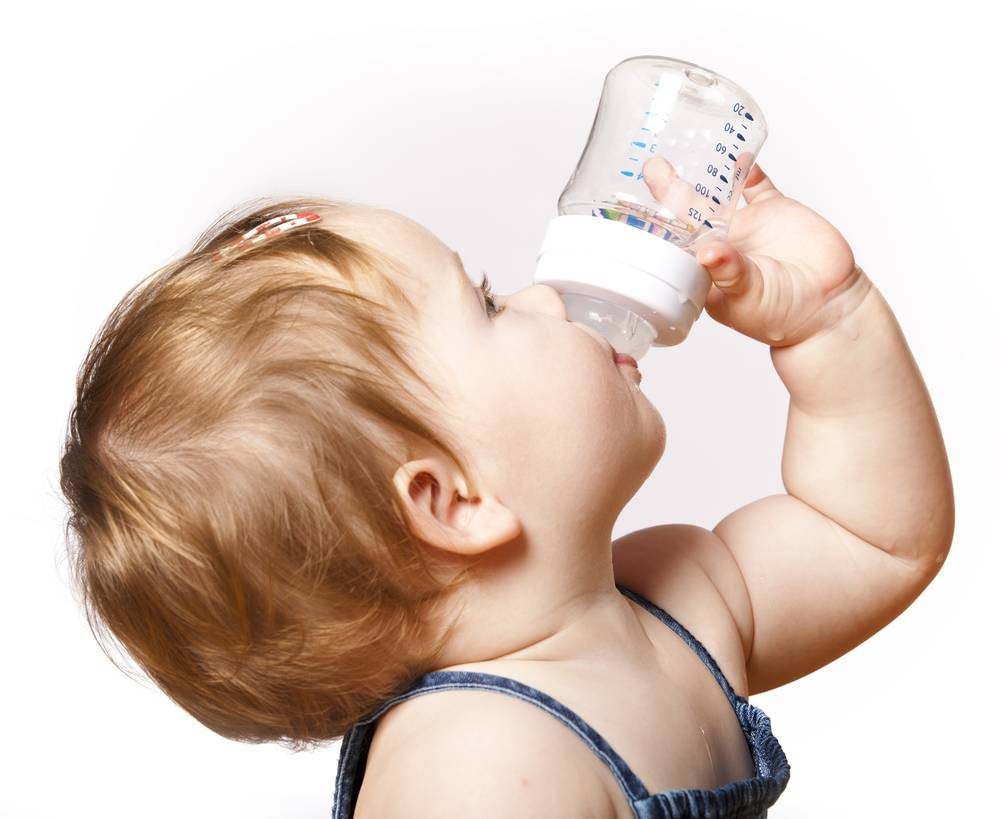 Отучаем малыша пить ночью из бутылочки